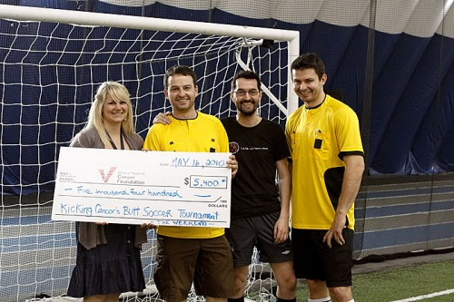 Over $5000 raiased for the Ottawa Regional Cancer Foundation