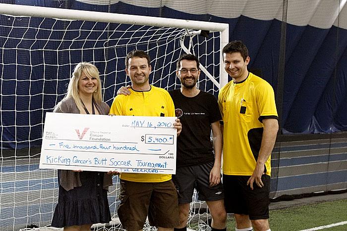 Over $5000 raised for the Ottawa Regional Cancer Foundation