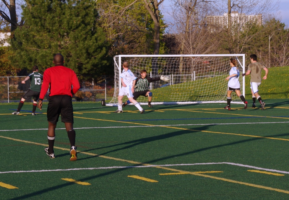 7-a-side Soccer at Carleton University