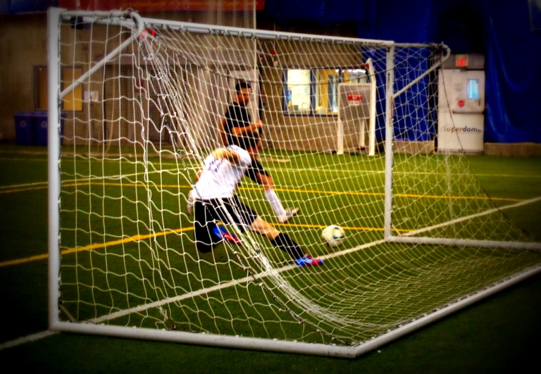 7-a-side soccer at Ben Franklin Dome