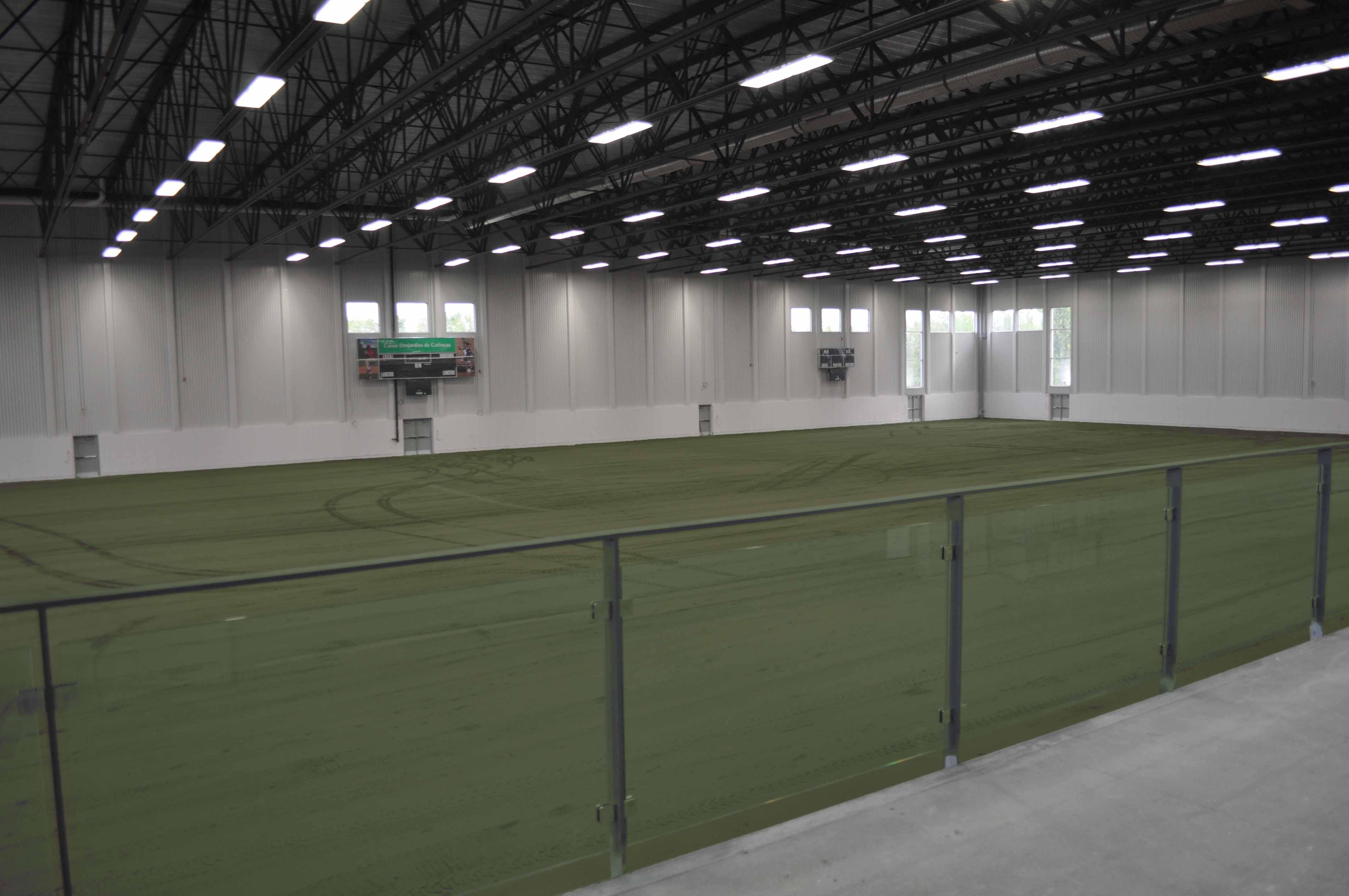 Terrains soccer gatineau for Design interieur gatineau