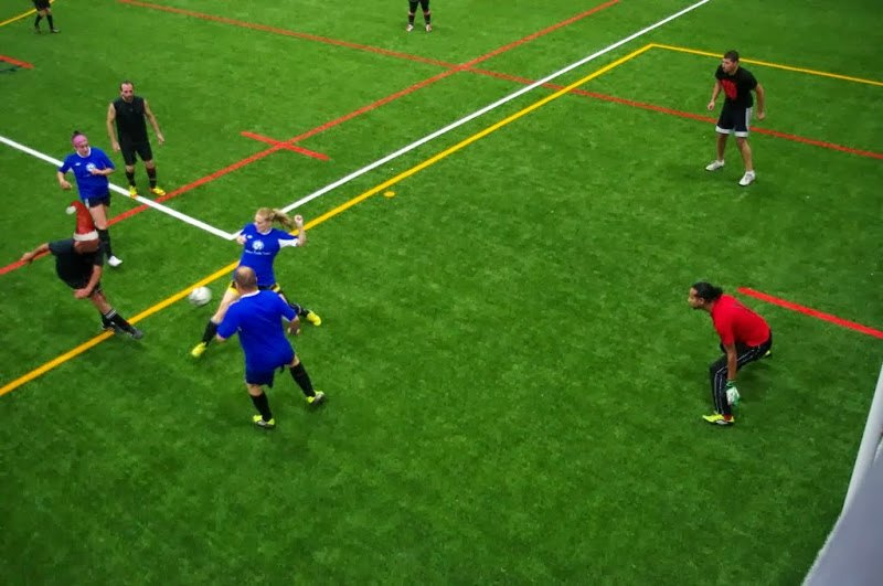 Fall Tuesday league at Complexe Branchaud Briere