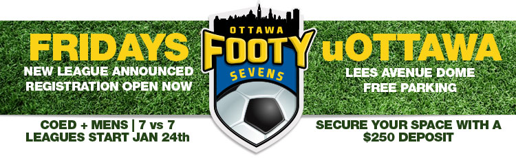 Friday Leagues at Ottawa University