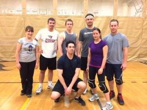 Mixed Volleyball at Carleton University