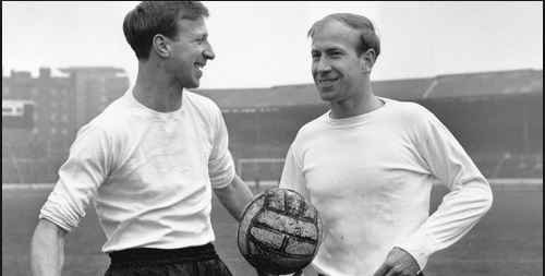 Jack and Bobby Charlton