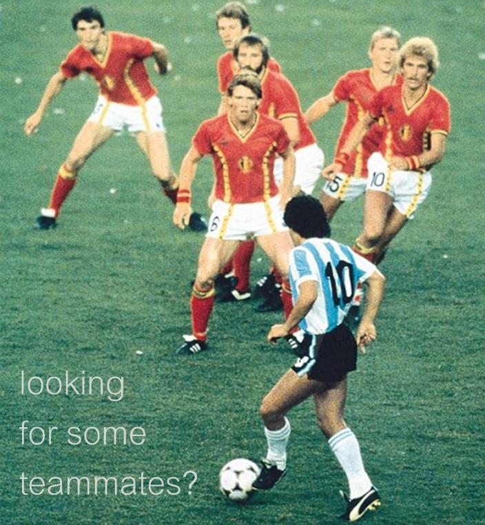 Maradona vs Belgium 1982