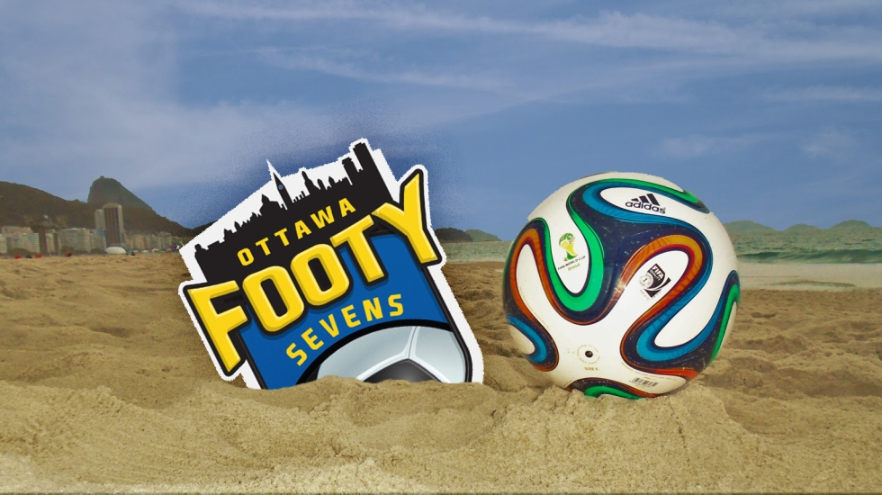 Footy on the Beach