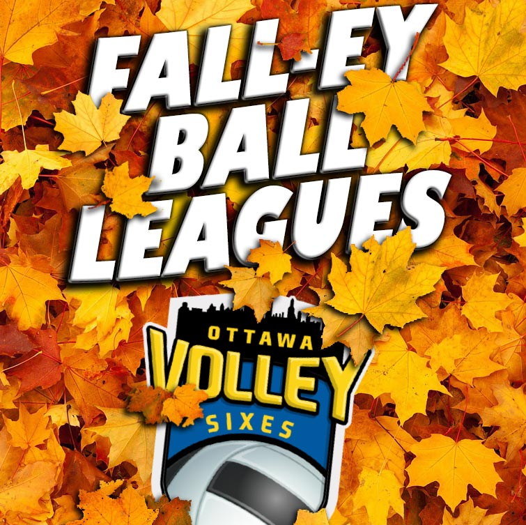 Fall Volleyball Leagues in Ottawa