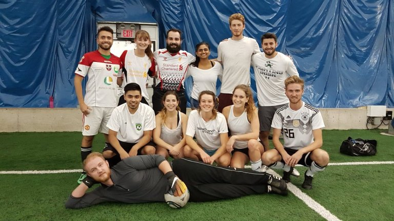 Ottawa Footy Sevens 7-a-side soccer league team.